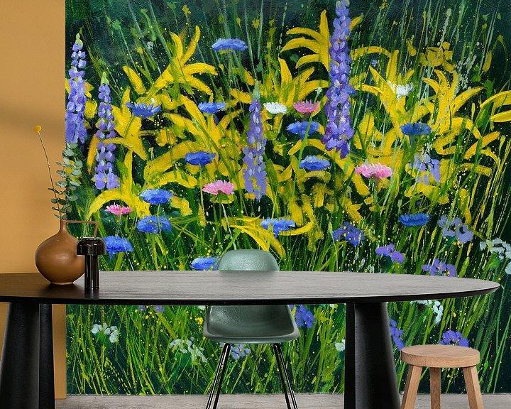 Beispiel fototapete: Blumen aus meinem Garten von pol ledent