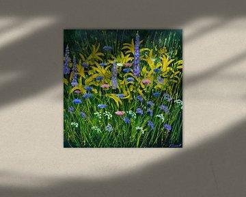 Bloemen uit mijn tuin van pol ledent