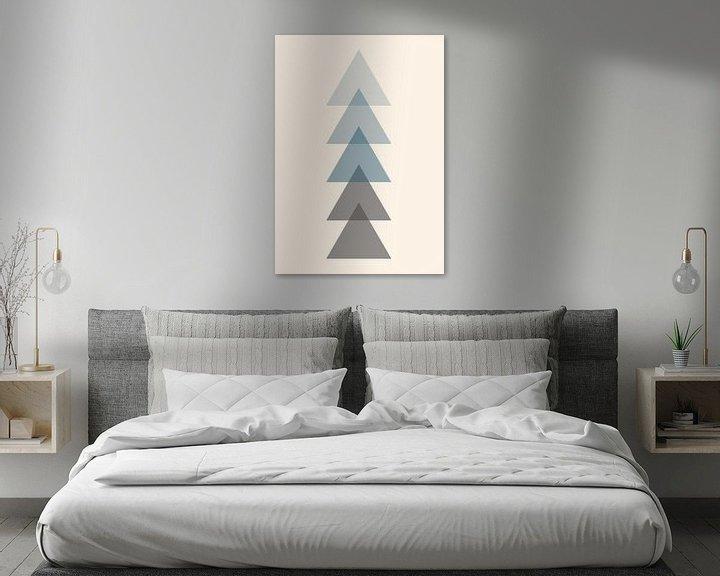 Beispiel: Der einzige Weg ist nach oben, abstrakt von Nynke Altenburg