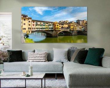 Florence, Italie de Ponte Vecchio van Ivo de Rooij