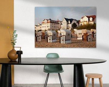 Strandkorbe bij Bansin, Duitsland van Marit Lindberg