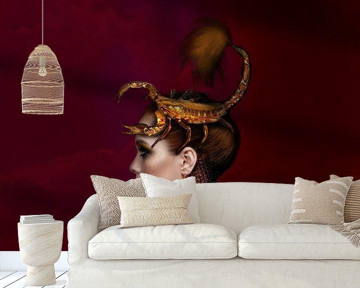 Beispiel fototapete: Skorpion von OEVER.ART