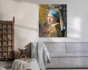 Het Meisje met de Parel, in het Bos van Renoir