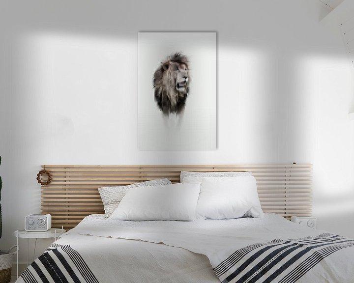 Impression: Scarface, un souvenir du lion emblématique sur Sharing Wildlife