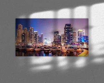 Dubai Marina von Martijn Kort