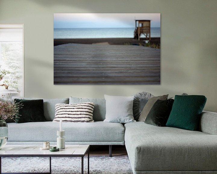 Sfeerimpressie: beachwalk van Jeroen van Deel