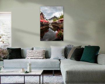 Fluss durch das Zentrum von Saarburg von Joyce Schouten