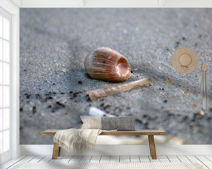 Sfeerimpressie behang: Zee anemoon van Jeroen van Deel