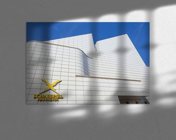 Beispiel: Schauspielhaus, Hannover, Niedersachsen, Deutschland, Europa von Torsten Krüger
