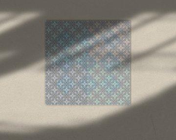 Zusammengesetztes, geschichtetes Muster Star von Rietje Bulthuis
