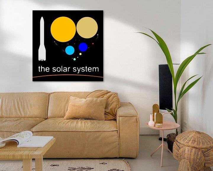 Impression: J'aime le système solaire sur Frans Blok