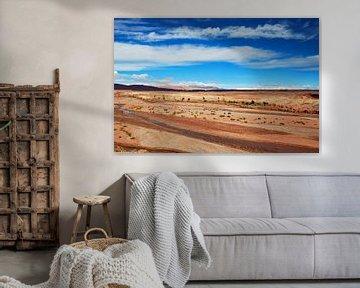 Panoramablick in Marokko von Homemade Photos