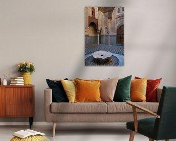Innenhof in Marokko von Homemade Photos