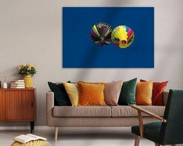 Hot-airballoons in Inzell van tiny brok