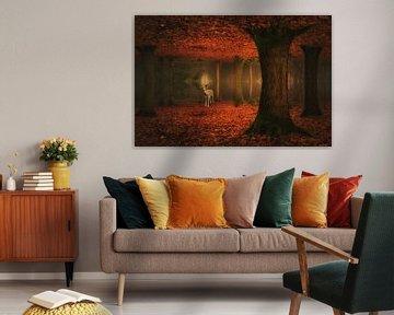 Forest dream . van Saskia Dingemans