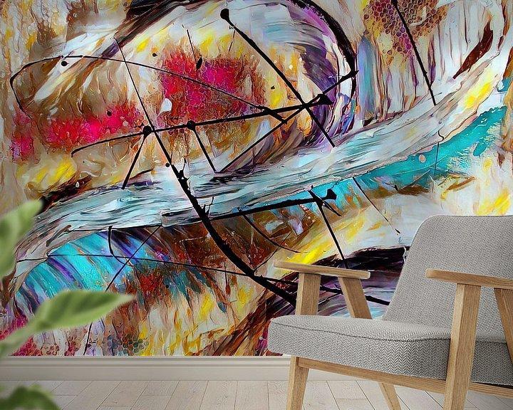 Beispiel fototapete: Abstrakte Kunst  - Der Flug des Phoenix von Patricia Piotrak