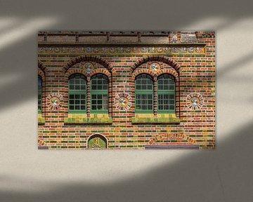 Fenster, Historisches Kerkhoffhaus , Rostock, Mecklenburg-Vorpommern, Deutschland, Europa von Torsten Krüger