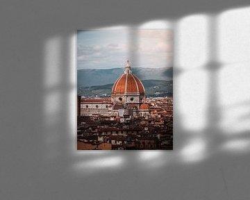 Florence skyline van Dayenne van Peperstraten