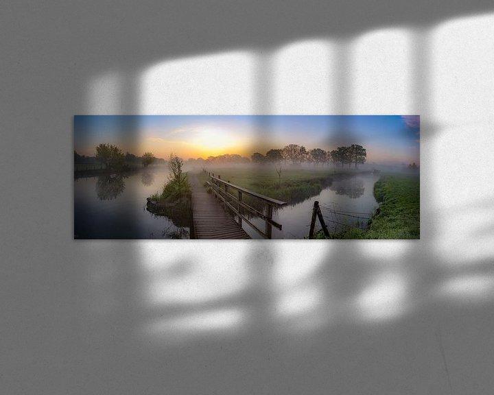 Impression: Panorama du Kromme Rijn sur le domaine de Rhijnauwen sur Arthur Puls Photography
