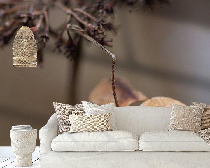 Sfeerimpressie behang: Gewoon wat rondhangen. van Petra Dreiling-Schewe