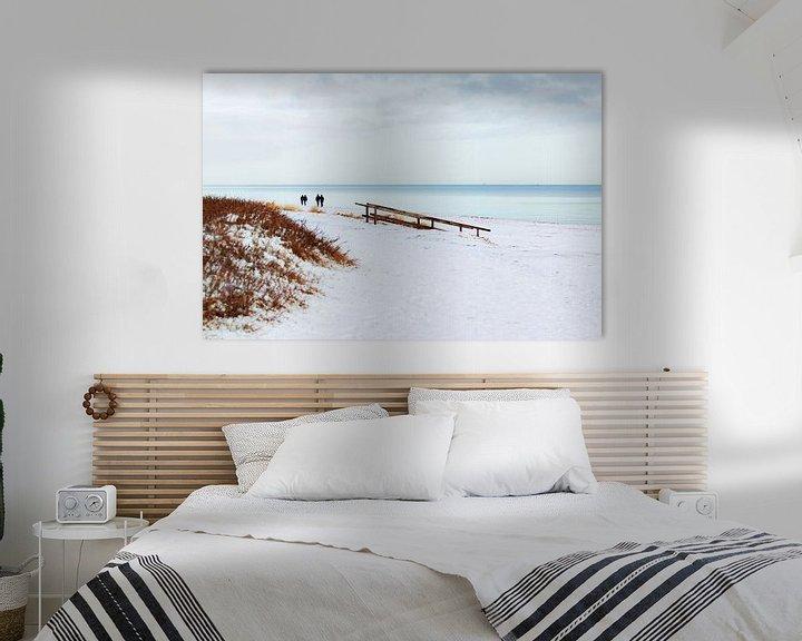 Sfeerimpressie: Sneeuw aan de Oostzee van Petra Dreiling-Schewe