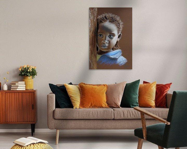 Beispiel: Äthiopisches Kind von Renate Dohr