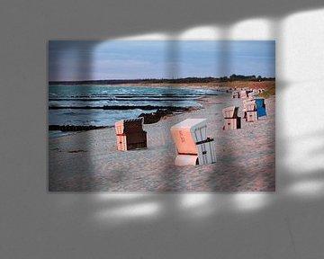 Sonnenuntergang am Ostseestrand von t.ART