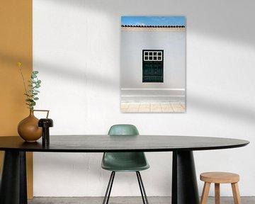 Authentiek groen raam van Pictorine