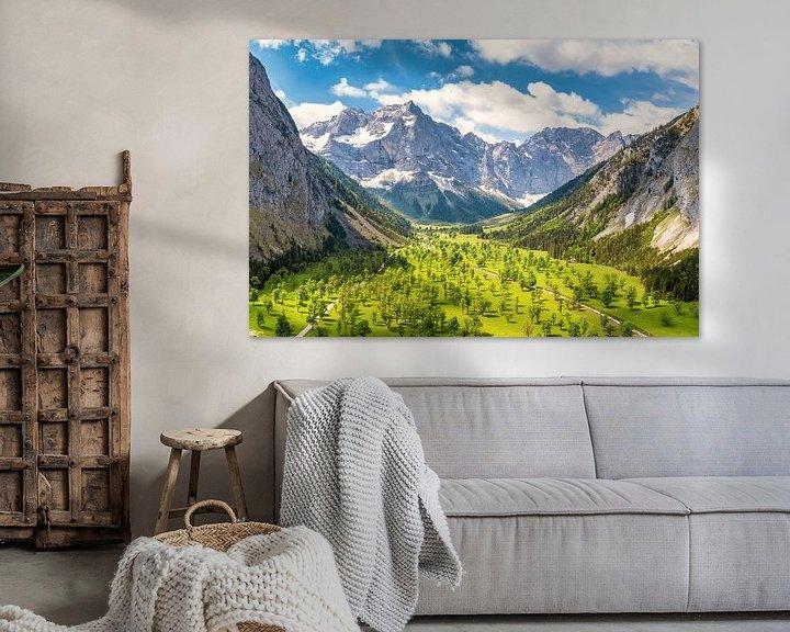 Beispiel: Sommer am Großen Ahornboden von Einhorn Fotografie