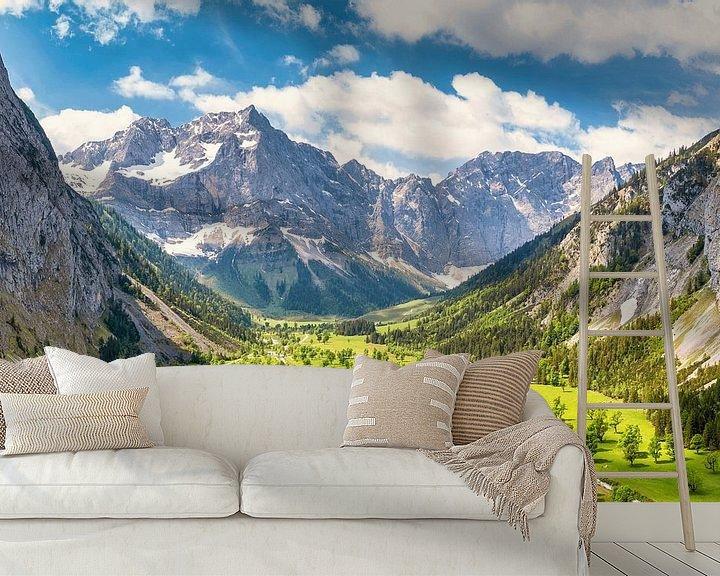 Beispiel fototapete: Sommer am Großen Ahornboden von Einhorn Fotografie
