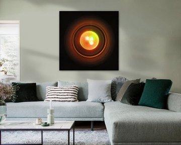 Minimalismus in Orange von Maurice Dawson