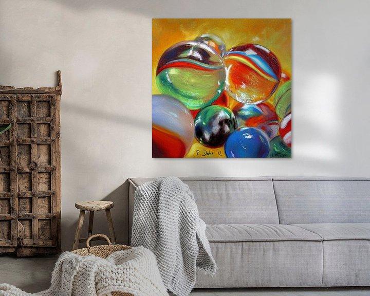 Beispiel: Murmeln von Renate Dohr