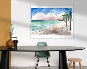 Sonnige karibische Strandtage in Barbados Miami Beach