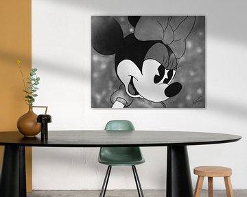 """Minnie Mouse """"Gestern"""" von Kathleen Artist Fine Art"""