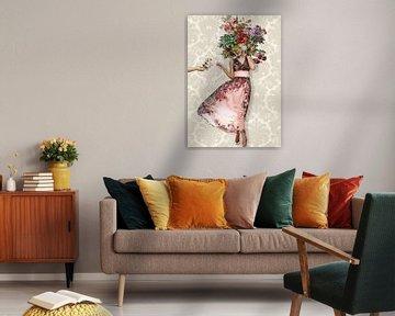 Stillleben Fröhliche Blumen von Rudy & Gisela Schlechter
