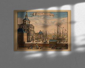 Rotterdam, 1695, t Nieuw Hooft van Atelier Liesjes