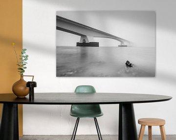 Japanische Austern unter der Zeelandbrücke von Julien Beyrath