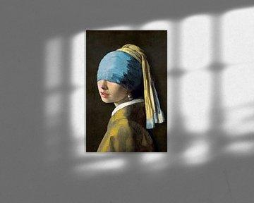 Meisje met de Parel – The Wardrobe Malfunction Edition sur Marja van den Hurk