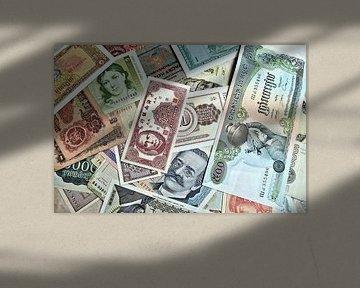 Bankbiljetten van over de hele wereld van Heiko Kueverling