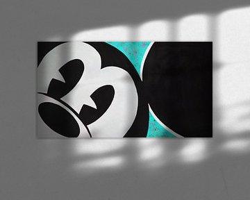 """Mickey Mouse """"Regard"""" van Kathleen Artist Fine Art"""