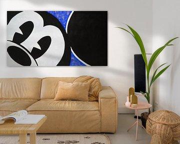 """Mickey Mouse """"Regard"""" von Kathleen Artist Fine Art"""