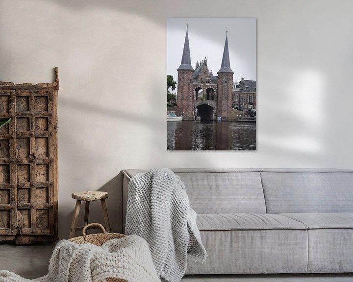 Sfeerimpressie: de poort van Sneek van Jeroen Franssen