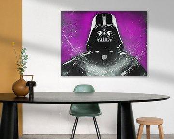 Darth Vader - Krieg der Sterne von Kathleen Artist Fine Art