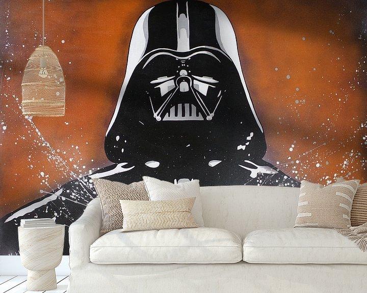 Beispiel fototapete: Darth Vader - Krieg der Sterne von Kathleen Artist Fine Art