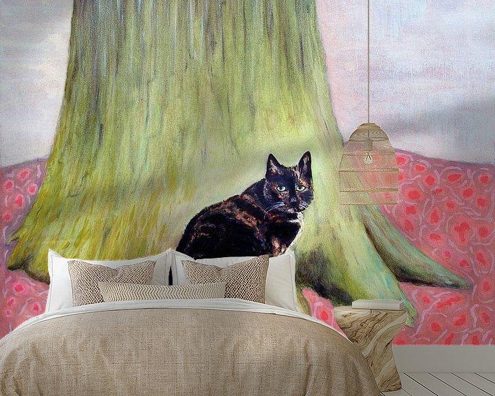 Beispiel fototapete: Sarah am Baum 70x80 von Marc Otte