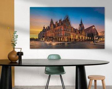 Oude Stadhuis van Hannover van Michael Abid