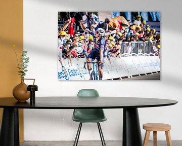 Mathieu van der Poel wint in de Tour de France van Leon van Bon
