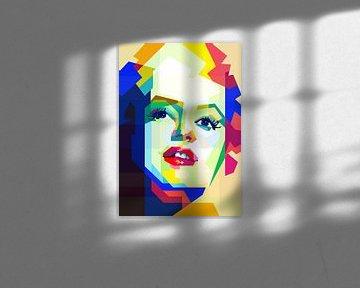 Monroe tussen kleur van Fariza Abdurrazaq