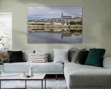 Panorama van Blois van Easycopters