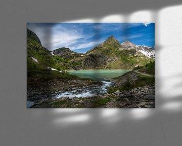 Stausee Margaritze im Nationalpark Hohe Tauern,  Österreich von Peter Schickert